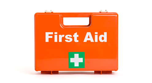 Eerste hulp bij ongelukken (EHBO)