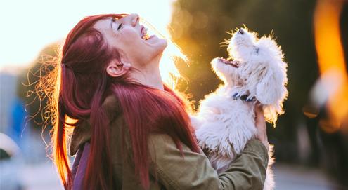 Huisdieren maken gelukkig