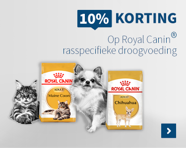 10% korting op alle Royal Canin Breeds