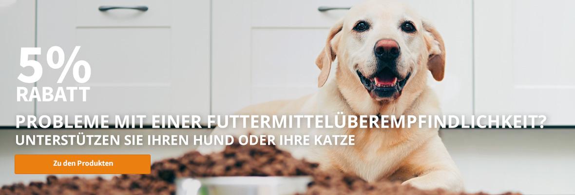Futterintoleranz Hund & Katze