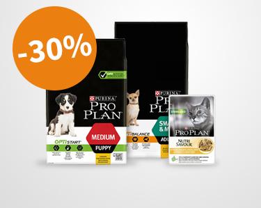 Profitez de 30% de remise la gamme Purina Pro Plan