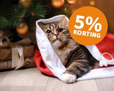 5% Korting op alle kerstproducten!