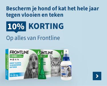 10% korting op alles van Frontline!