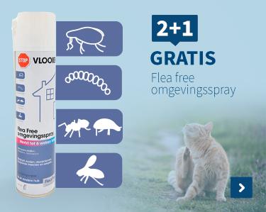 2+1 gratis Flea Free omgevingsspray