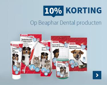 10% kortin op Beaphar Dental producten