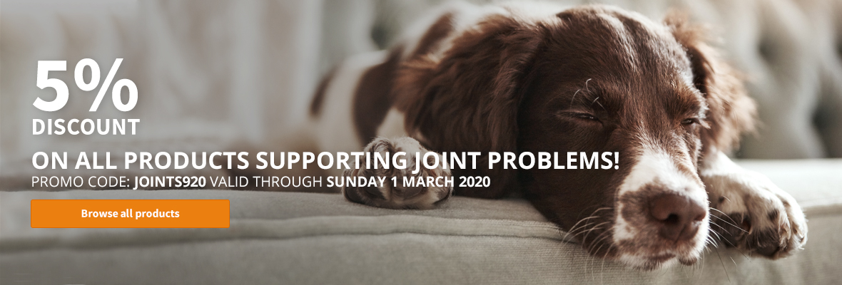 5% discount on all products supporting joint problems