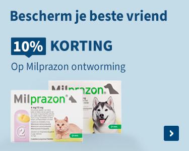 10% korting op Milprazon!
