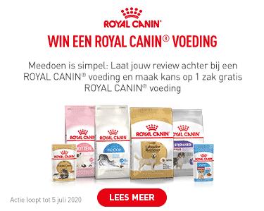 Doe mee en win 1 zak gratis Royal Canin voeding!
