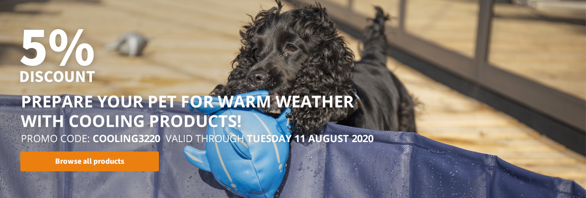 5% discount on all cooling products