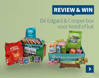 Review & win Edgard & Cooper box