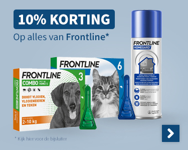 10% korting op alles van Frontline