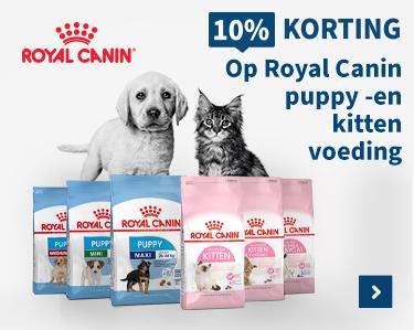 10% korting op Royal Canin puppy -en kitten voeding