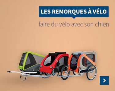 Remorques Vélo & Paniers de Transport pour Chien