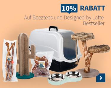 10% Rabatt Auf Beeztees und Designed by lotte!