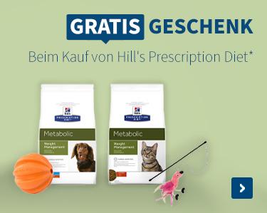 Gratis Geschenk Beim Kauf von Hills Prescription Diet