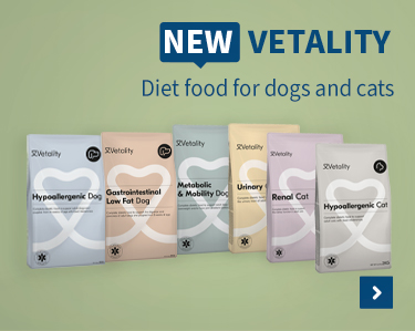 New vetality Diet food for dogs and cats