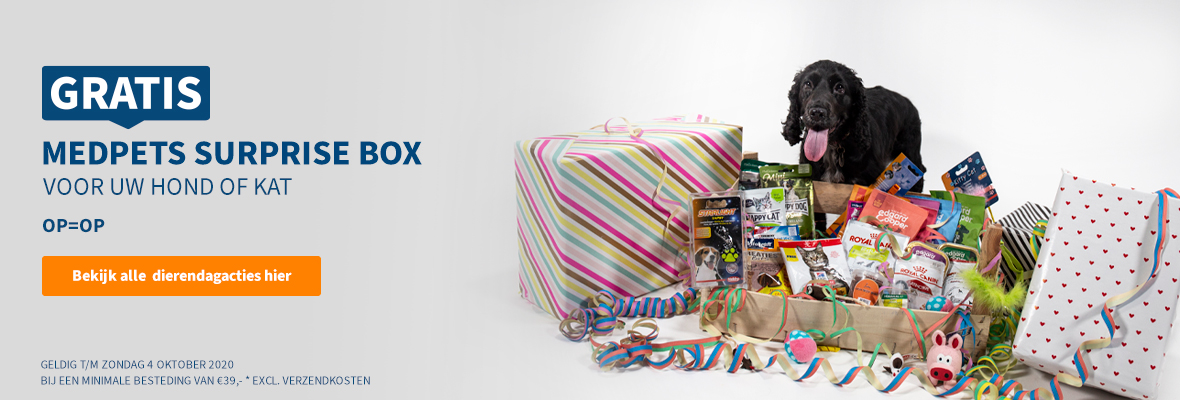 Gratis Medpets Suprise Box!
