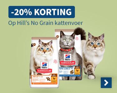 -20% korting Op Hills No Grain kattenvoer