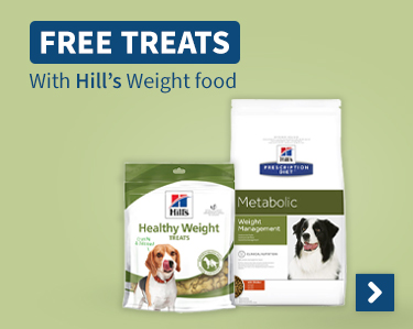Free Treats With Hills Weight food