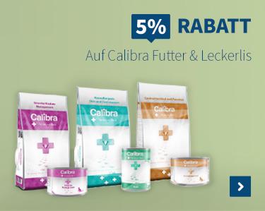 5% Rabatt Auf Calibra Futter & Leckerlis