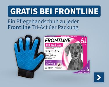 Gratis Bei Fronline Ein Pflegehandschuh zu jeder Frontline Tric-Act 6er Packung