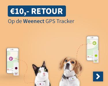 €10,- Retour op de Weenect GPS Tracker