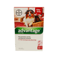 Advantage 250 Spot-on Solution for Dogs