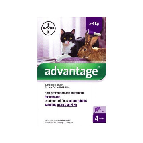 Advantage 80 Spot-on Solution for Cats