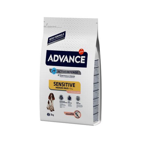Affinity Advance Sensitive Medium-Maxi Lachs & Reis - Hund