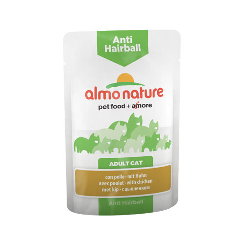 Almo Nature - Cat - Anti-Hairball Aliments Anti-Boules de Poils pour Chat