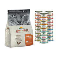 Almo Nature - Cat - Maandpakket Kip - Mixed