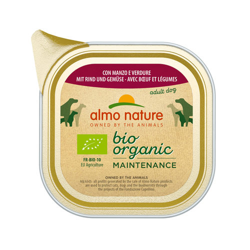 Almo Nature - Dog - Daily Menu Bio Paté - Hundefutter