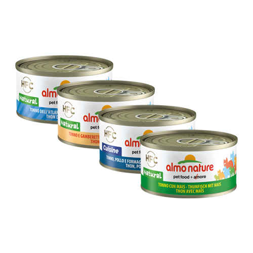 Almo Nature HFC Natural 70 g pour Chat - Poisson