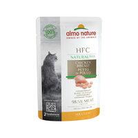 Almo Nature Cat Plus Kattenvoer - Maaltijdzakje - Kippenborst