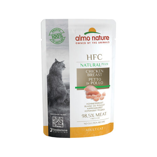 Almo Nature Plus - Meal Pouch | Chicken breast