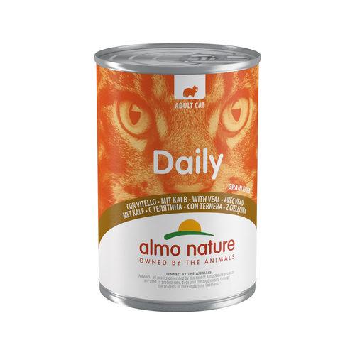 Almo Nature Daily Menu Cat Food - Tin - Veal