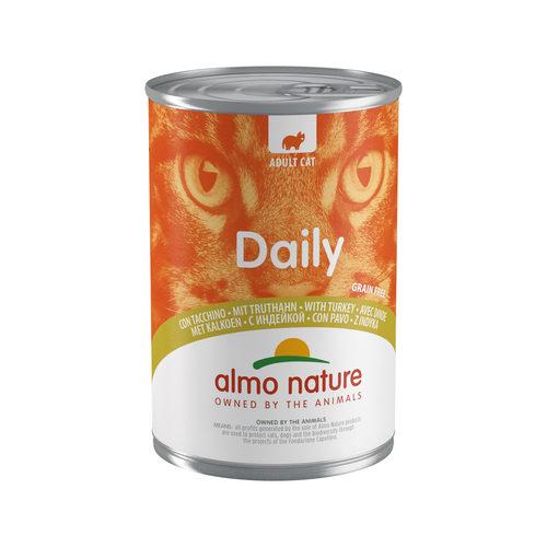 Almo Nature Daily Menu Kattenvoer - Blik - Kalkoen