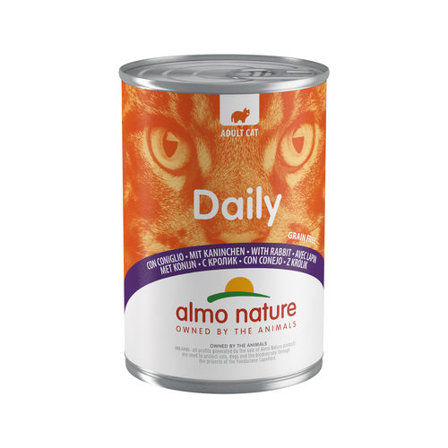 Almo Nature Daily Menu Kattenvoer - Blik - Konijn