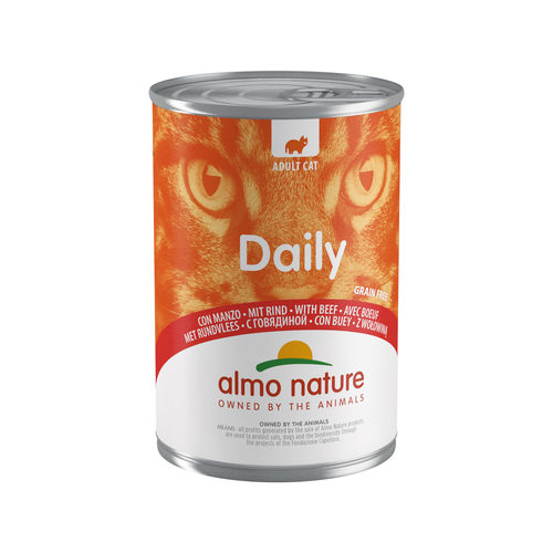 Almo Nature Daily Menu Kattenvoer - Blik - Rund