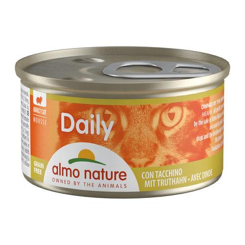 Almo Nature Daily Menu Mousse Kattenvoer - Blik - Kalkoen