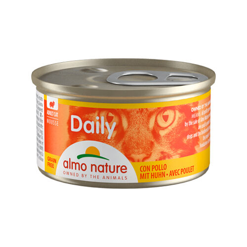 Almo Nature Daily Menu Mousse Katzenfutter - Dosen - Huhn
