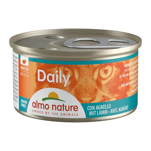 Almo Nature Daily Menu Mousse Kattenvoer - Blik - Lam