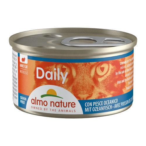 Almo Nature Daily Menu Mousse Kattenvoer - Blik - Oceaanvis