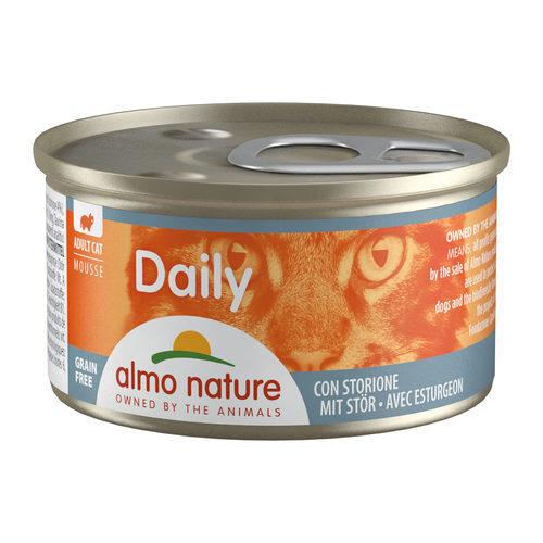 Almo Nature Daily Menu Mousse Cat Food - Tin - Sturgeon