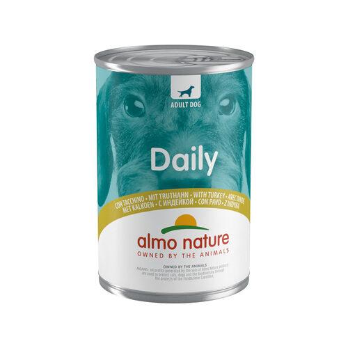 Almo Nature Dog Daily Menu Hundefutter - Dose - Pute