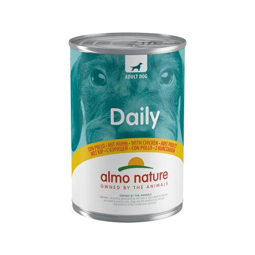 Almo Nature Dog Daily Menu Hondenvoer - Blik - Kip