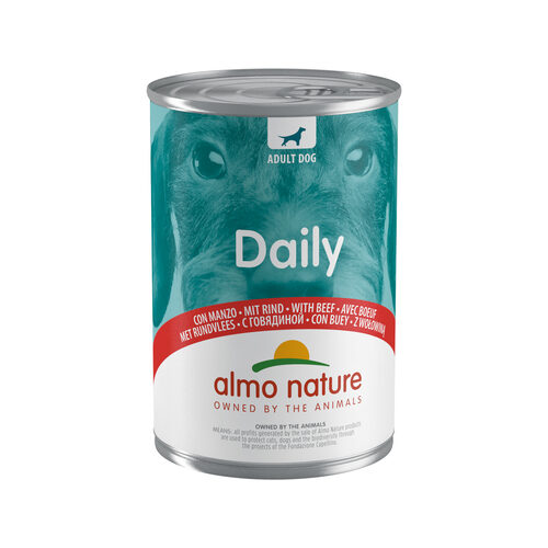 Almo Nature Dog Daily Menu Hondenvoer - Blik - Rund