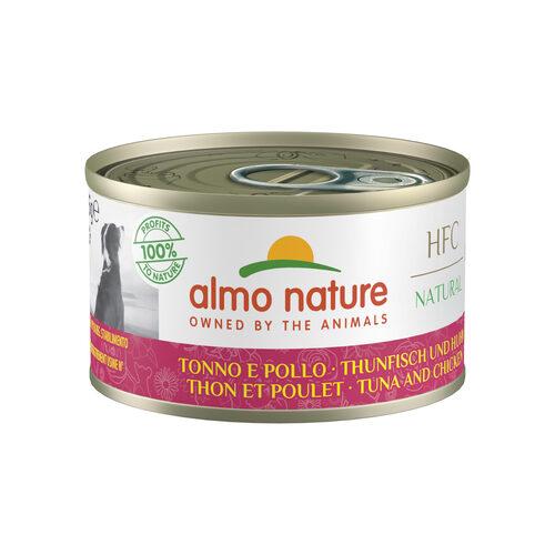 Almo Nature Dog HFC 95 Natural Hundefutter - Dose - Thunfisch & Huhn