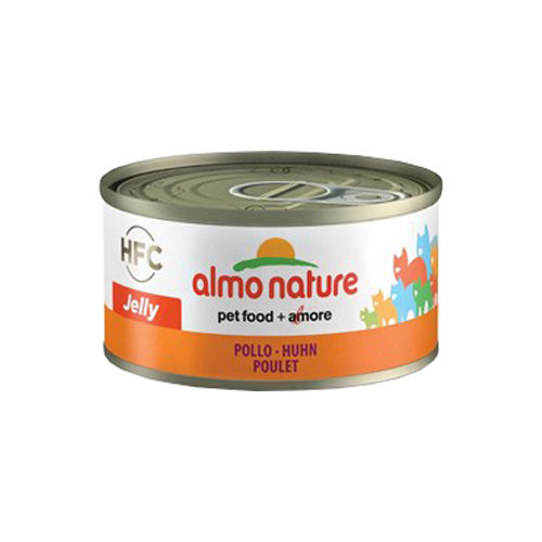 Almo Nature HFC 70 Jelly Kattenvoer - Blik - Kip