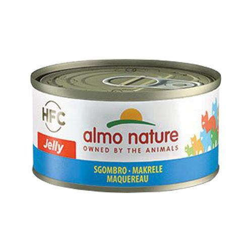Almo Nature HFC 70 Jelly Cat Food - Tin - Mackerel